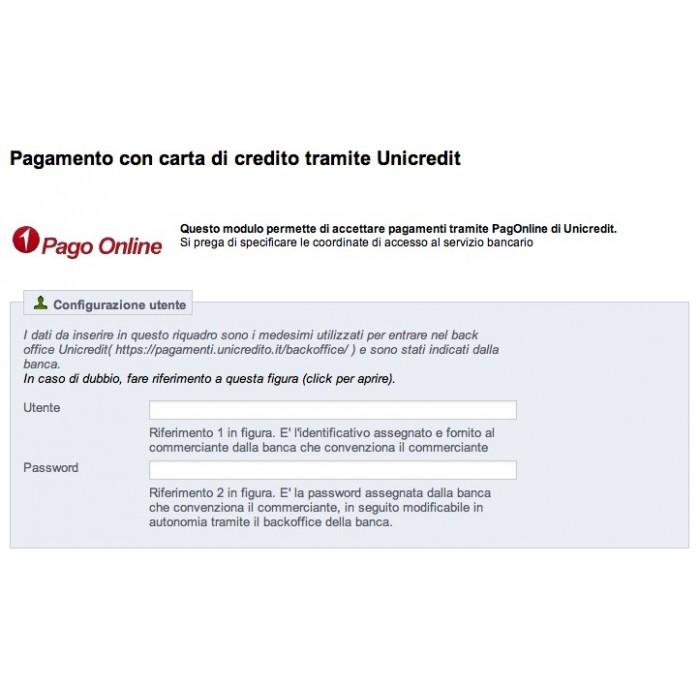 module - Pago con Tarjeta o Carteras digitales - Unicredit PagOnline Carte - 3