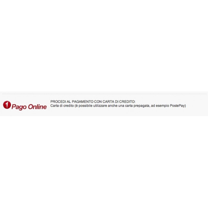 module - Payment by Card or Wallet - Unicredit PagOnline Carte - 5