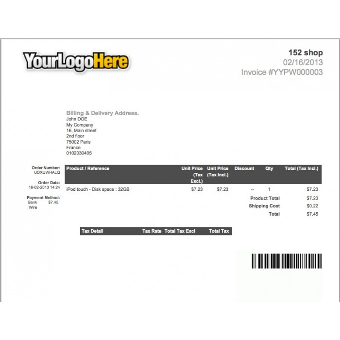 module - Подготовка и отправка - Invoice & Delivery Barcode Generator - 2