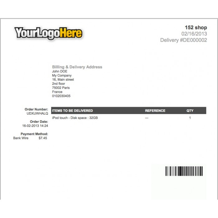 module - Подготовка и отправка - Invoice & Delivery Barcode Generator - 3