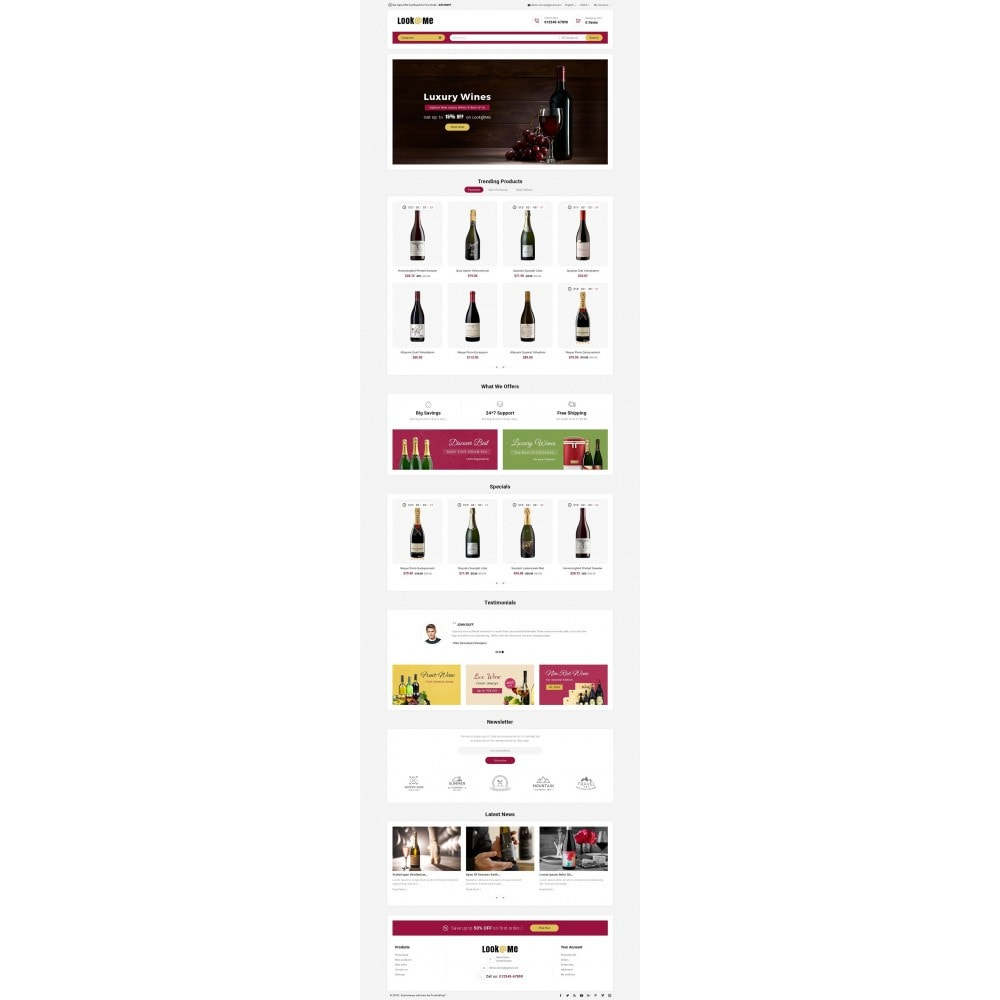 theme - Boissons & Tabac - Look me Wine Store - 2
