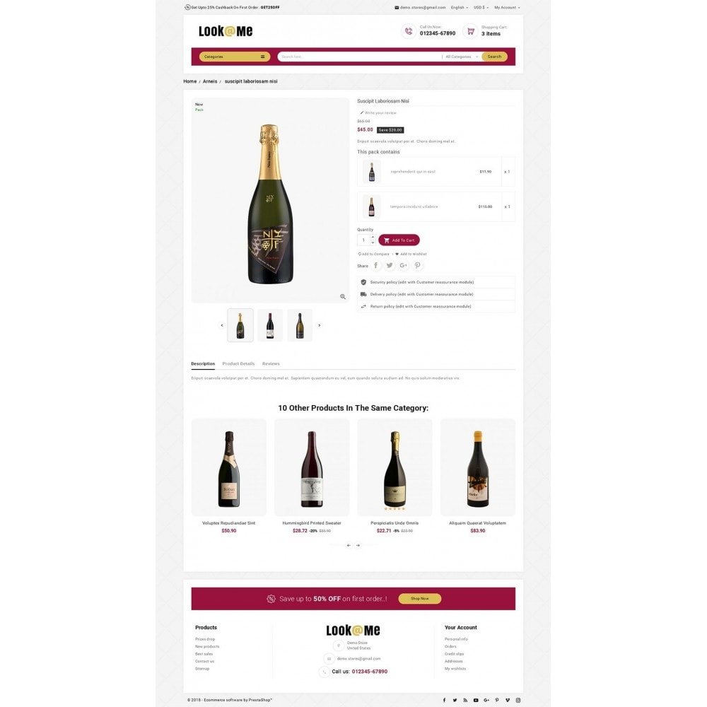 theme - Boissons & Tabac - Look me Wine Store - 5