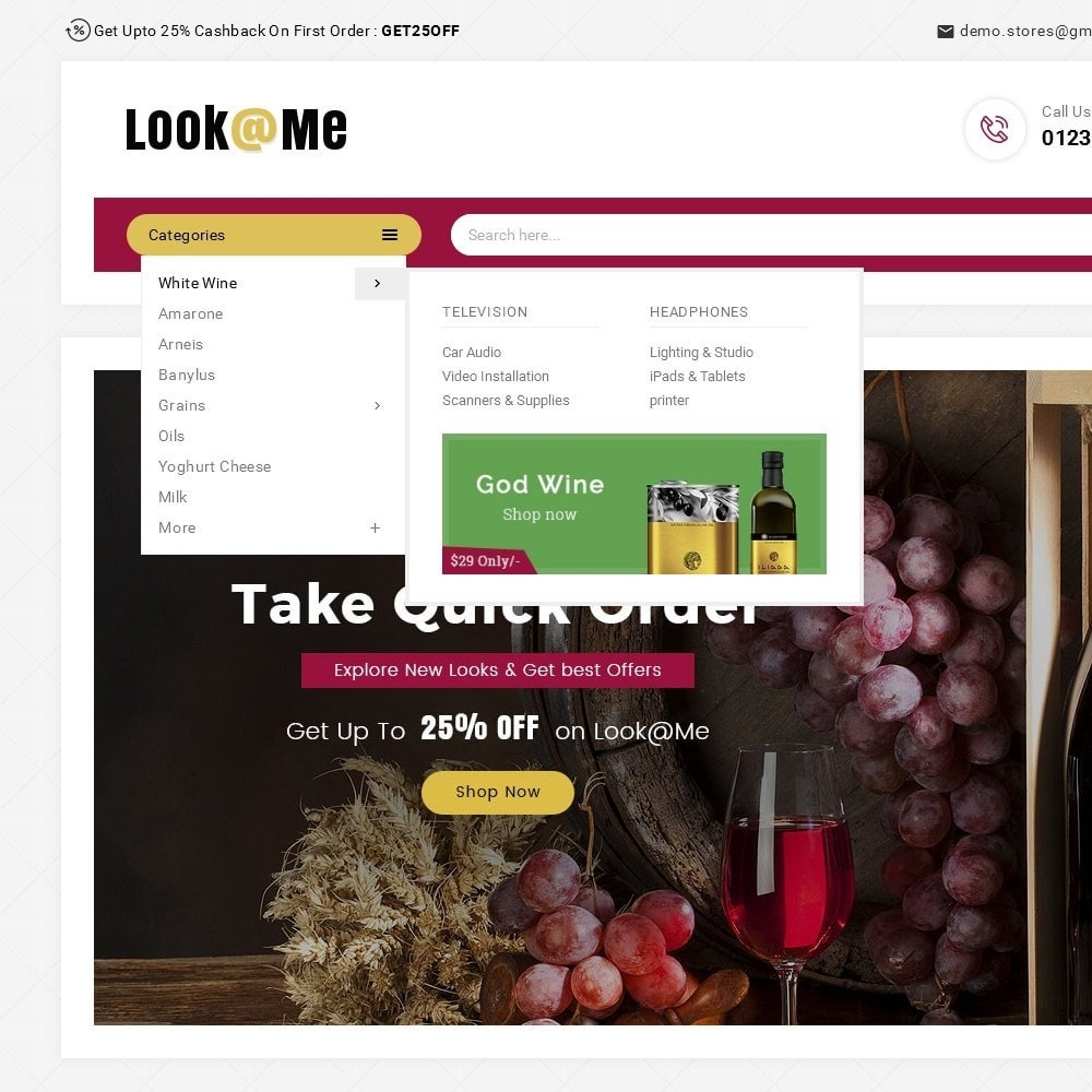 theme - Boissons & Tabac - Look me Wine Store - 9