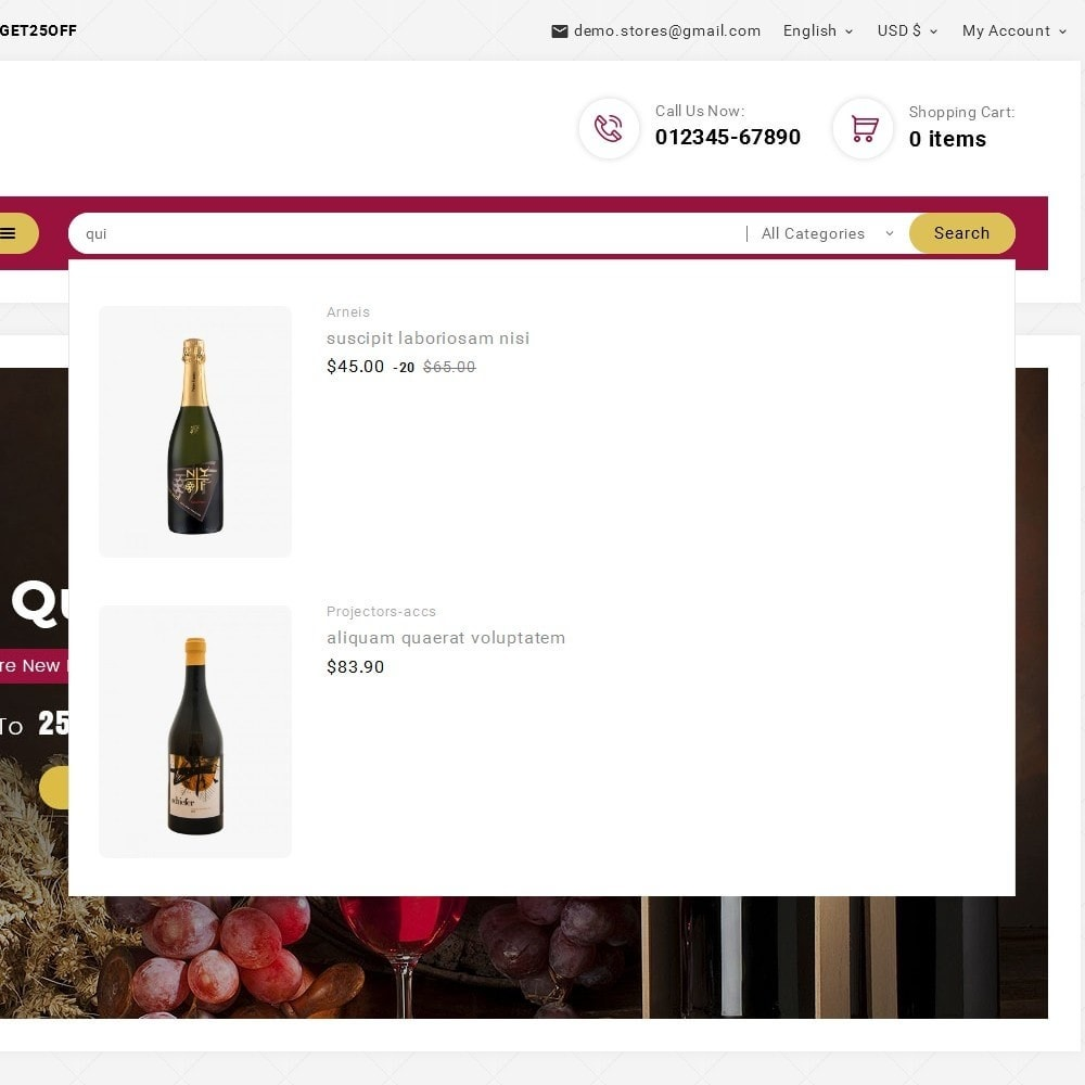 theme - Drink & Tobacco - Look me Wine Store - 10