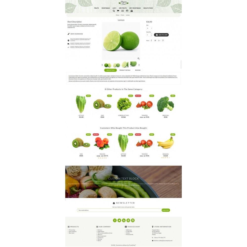theme - Alimentation & Restauration - Organic Food - 3
