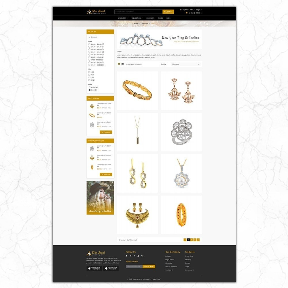 theme - Bijoux & Accessoires - jewellery store - 3