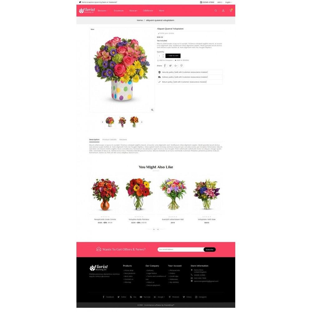 theme - Prezenty, Kwiaty & Uroczystości - Florist Blooming Art - 5