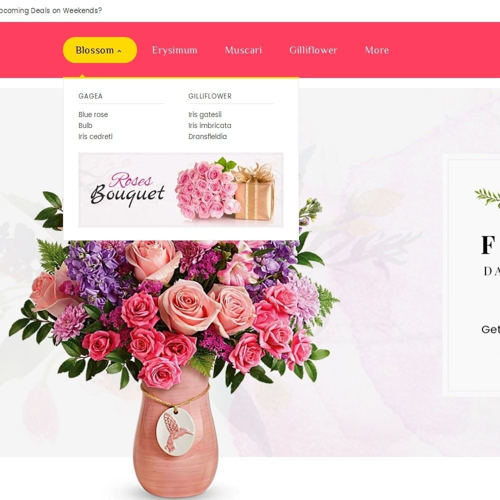 theme - Prezenty, Kwiaty & Uroczystości - Florist Blooming Art - 9