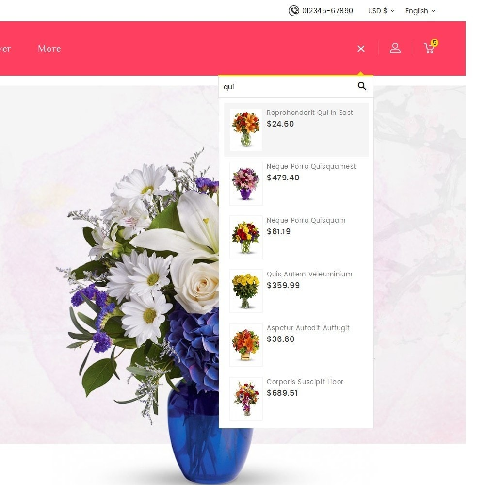 theme - Gifts, Flowers & Celebrations - Florist Blooming Art - 10