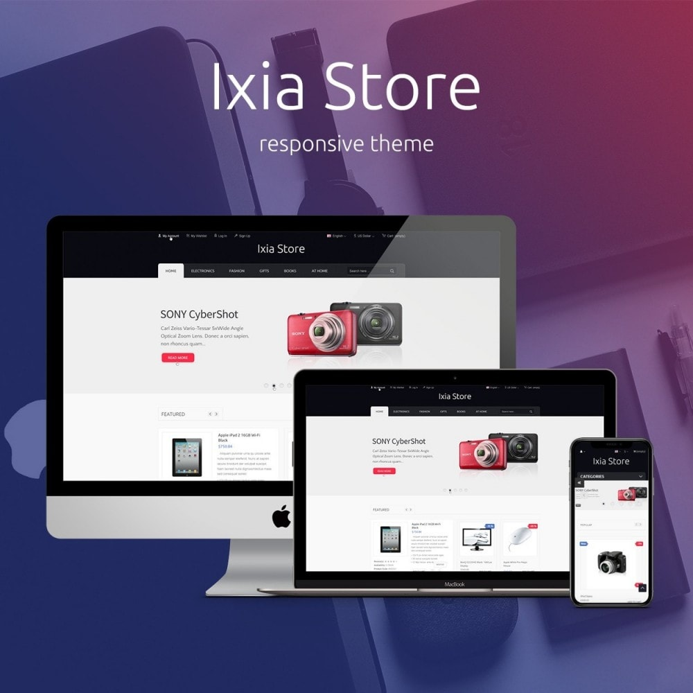 theme - Electronics & Computers - Ixia - Hi-tech Store - 1