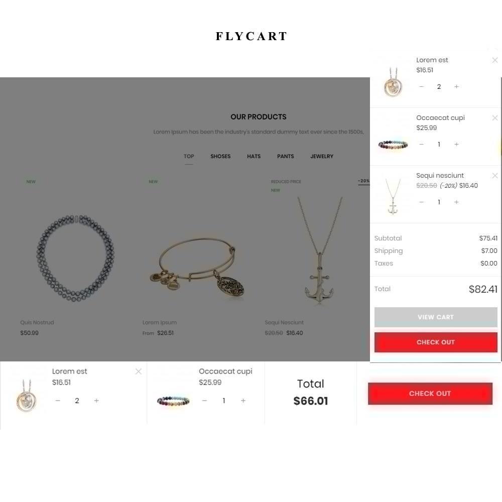 theme - Ювелирные изделия и Аксессуары - Bijoux - Jewelry & Accessories Store - 2