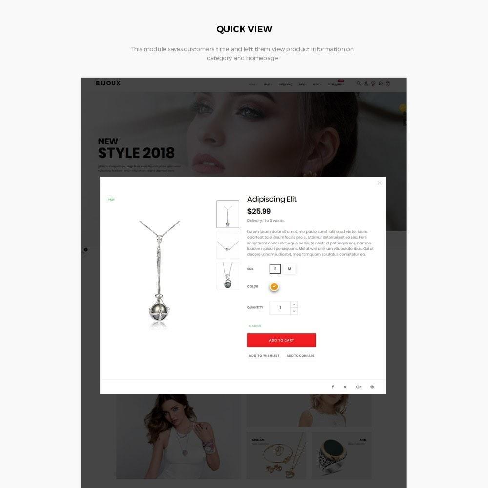 theme - Ювелирные изделия и Аксессуары - Bijoux - Jewelry & Accessories Store - 10