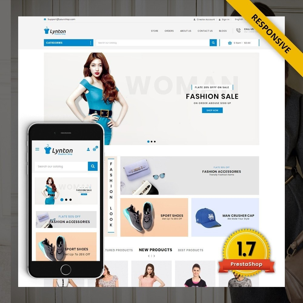 theme - Fashion & Shoes - Lynton - Fashion Store - 1