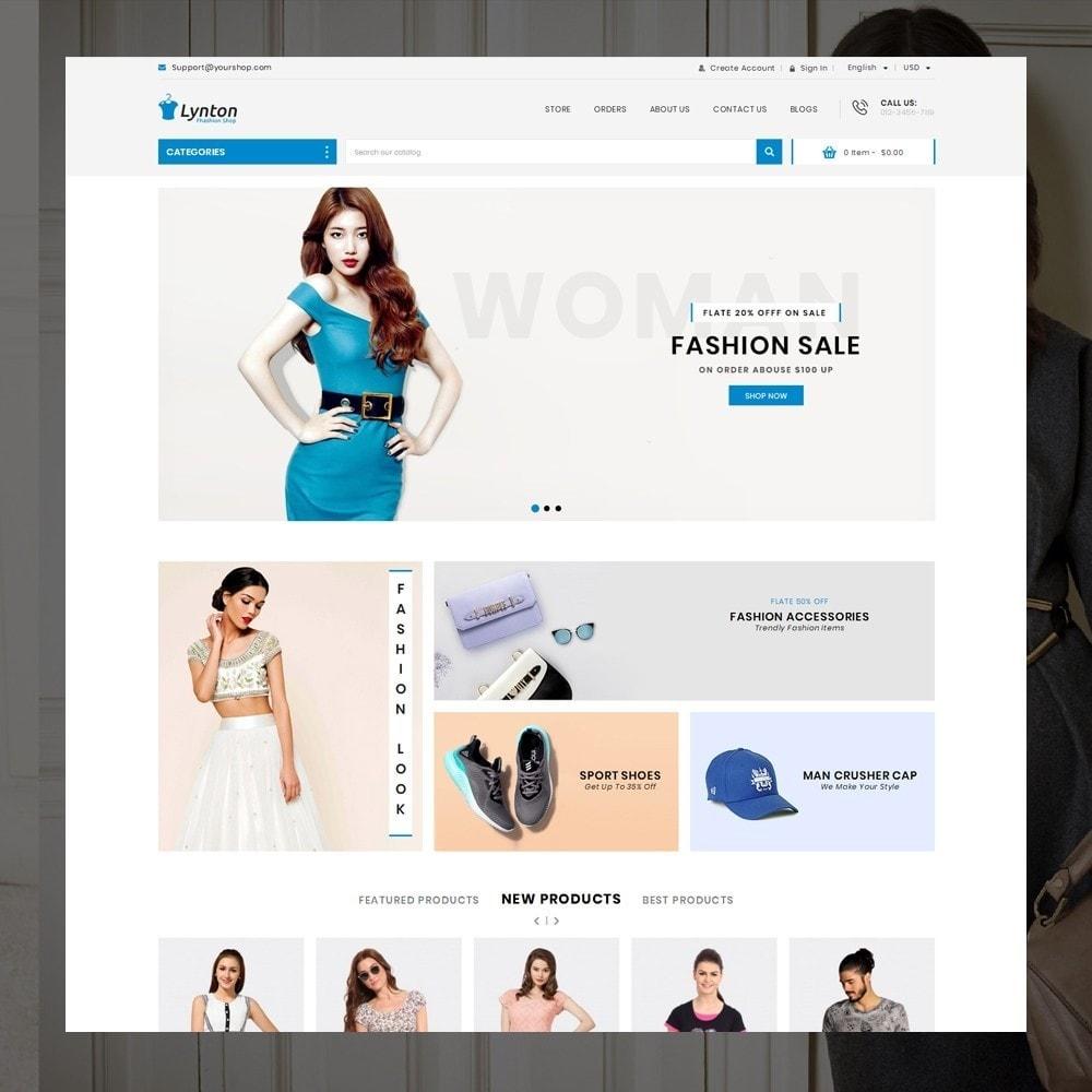 theme - Fashion & Shoes - Lynton - Fashion Store - 2