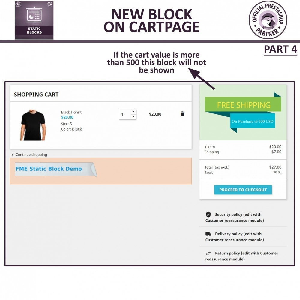 module - Blocks, Tabs & Banners - Static Blocks - Add Custom HTML, Text, Media Blocks - 10