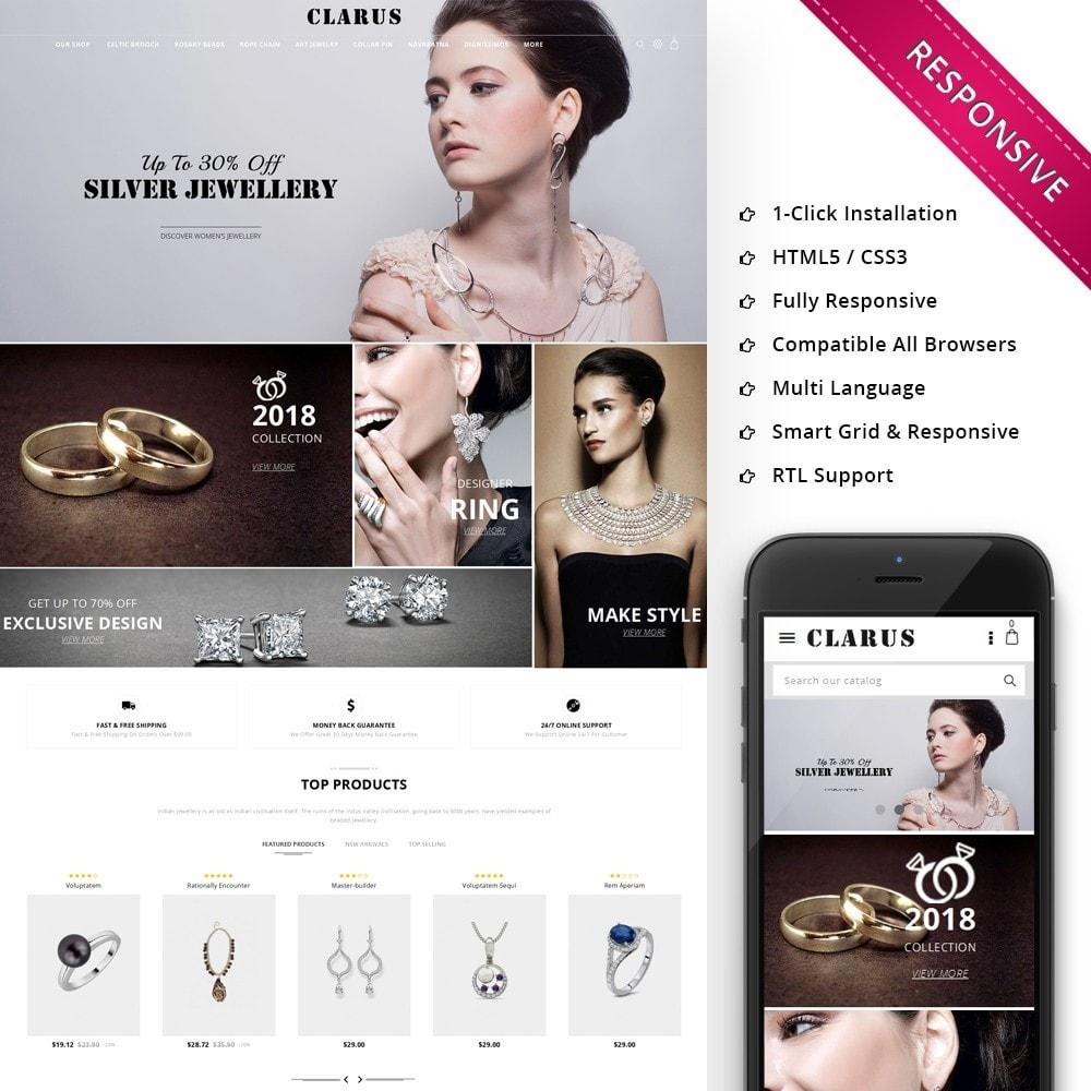 theme - Bellezza & Gioielli - Clarus - The Jewelry Shop - 1
