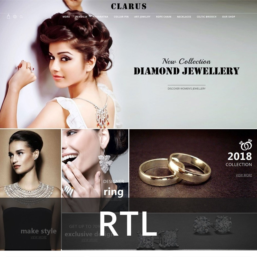 theme - Jewelry & Accessories - Clarus - The Jewelry Shop - 3