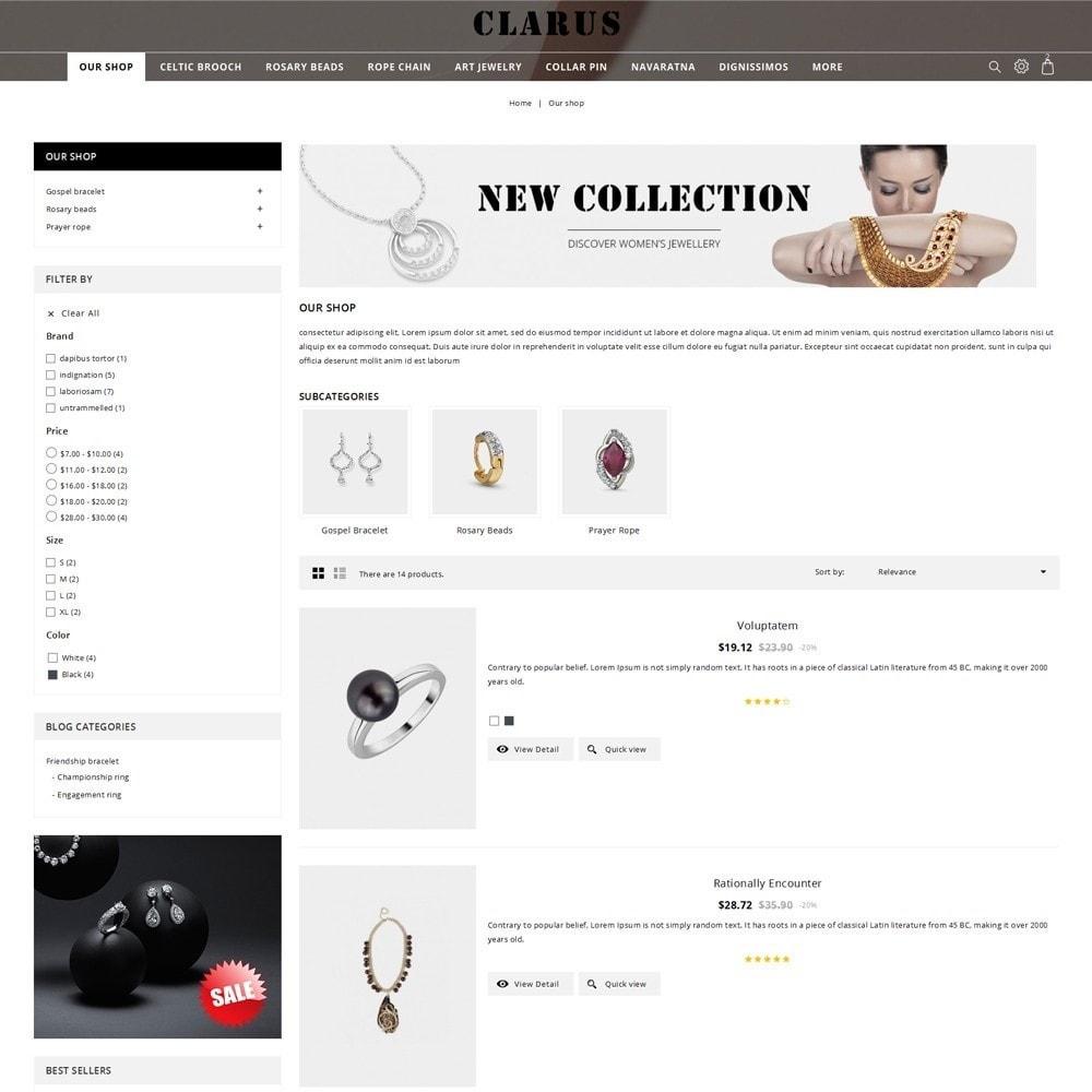 theme - Bellezza & Gioielli - Clarus - The Jewelry Shop - 5