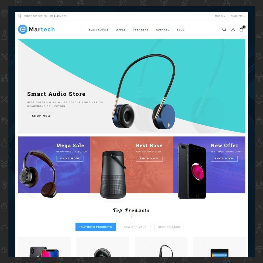 theme - Electronique & High Tech - Martech Electronic Store - 2