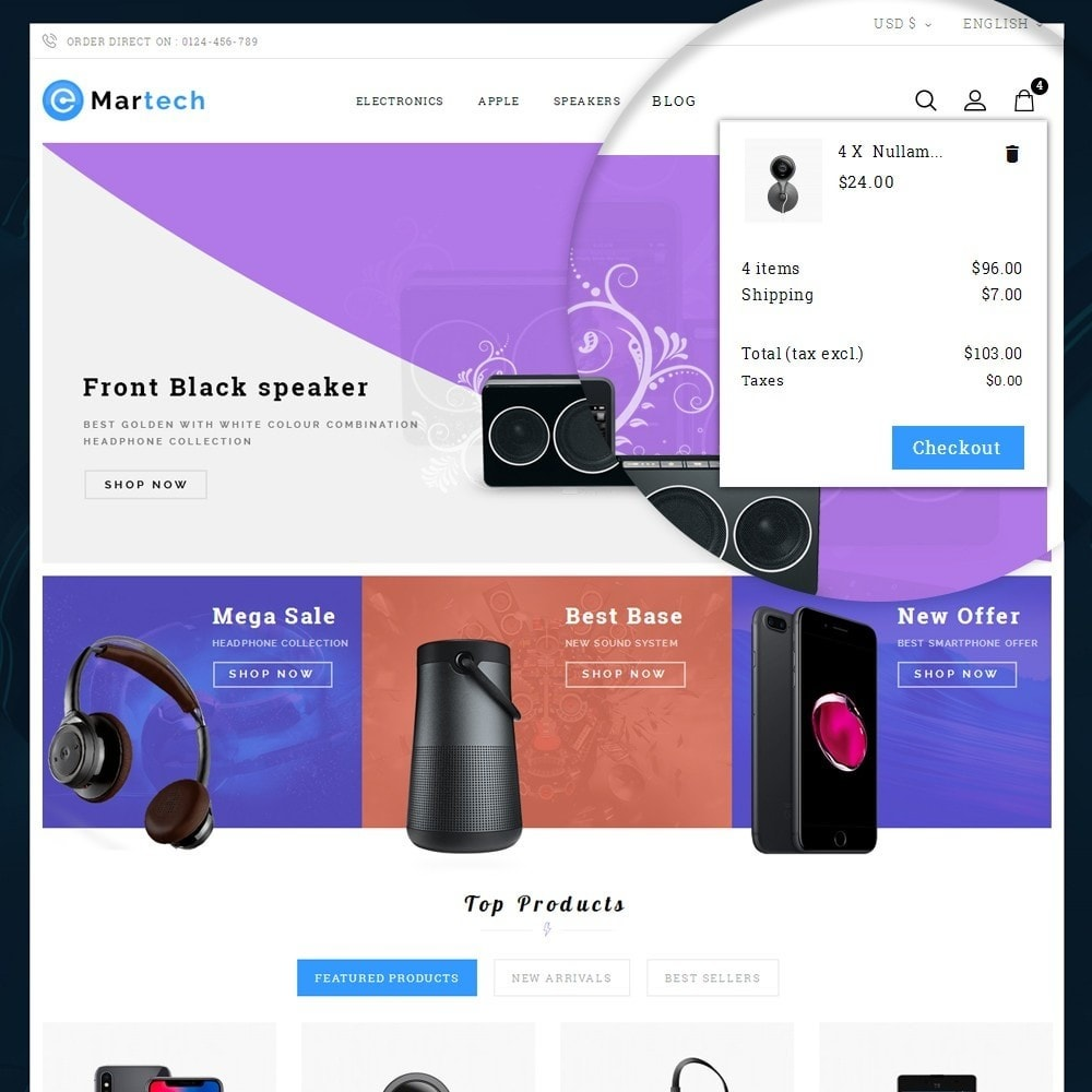 theme - Electronique & High Tech - Martech Electronic Store - 7
