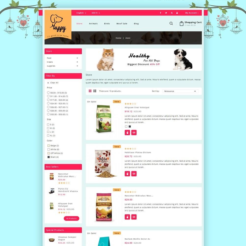 theme - Zwierzęta - Puppy Pet Store - 4