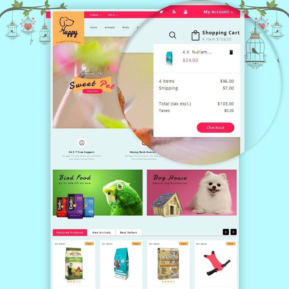 theme - Animals & Pets - Puppy Pet Store - 7