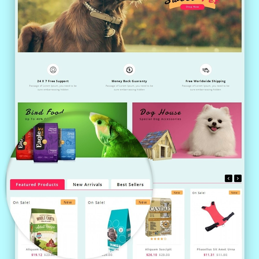 theme - Animals & Pets - Puppy Pet Store - 11