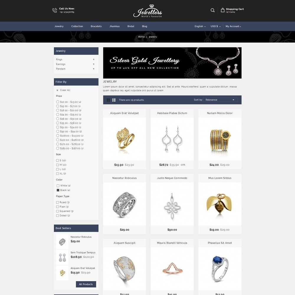theme - Sieraden & Accessoires - Jewellers - Jewelry Shop - 3