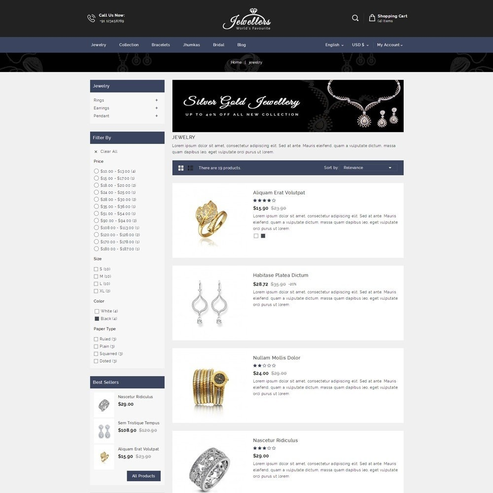 theme - Sieraden & Accessoires - Jewellers - Jewelry Shop - 4