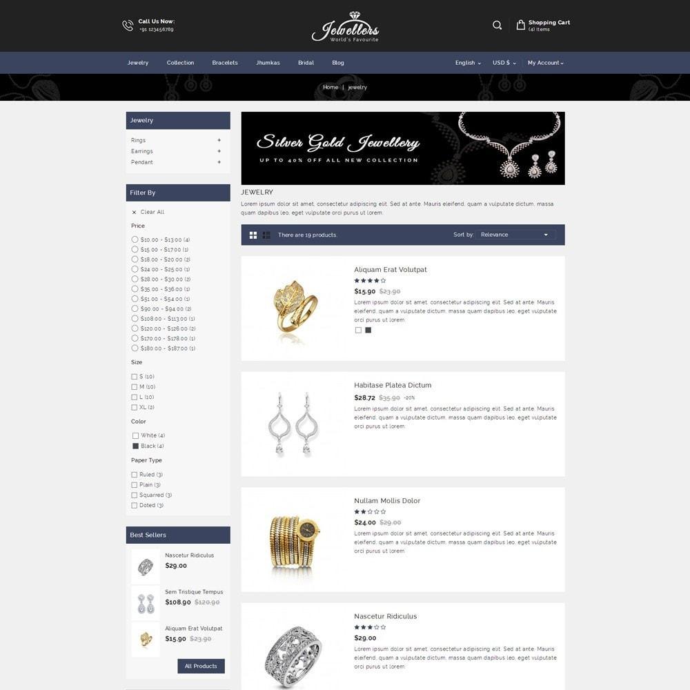 theme - Schmuck & Accesoires - Jewellers - Jewelry Shop - 4