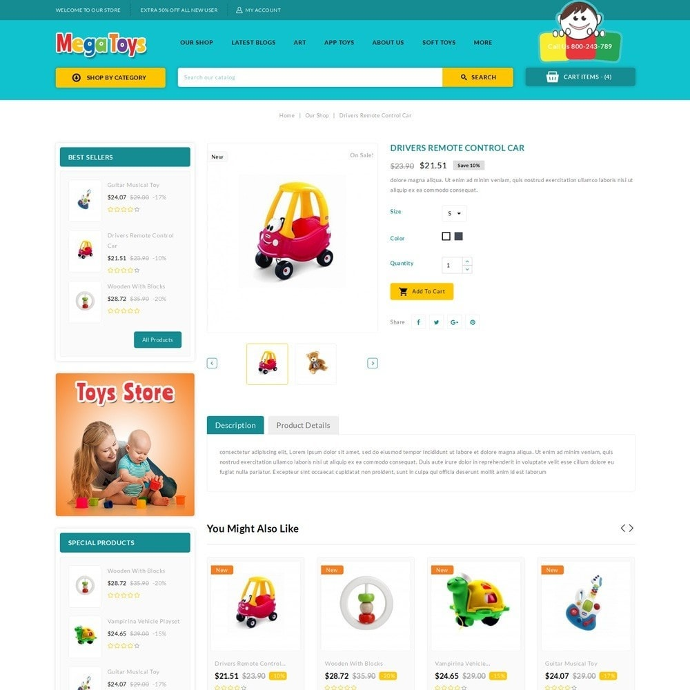 theme - Kinder & Spielzeug - Mega Toys - The Toy Shop - 6