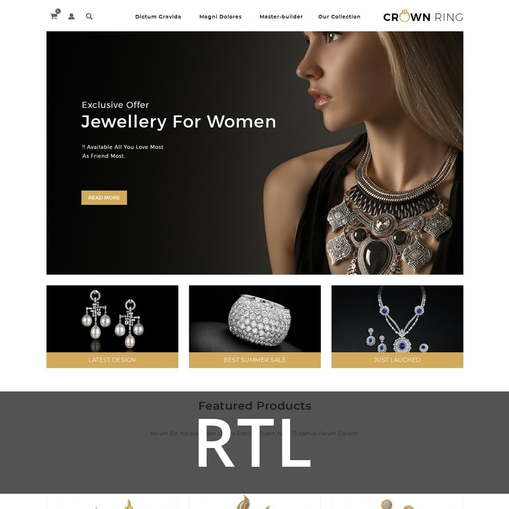 theme - Joyas y Accesorios - Crown Ring - The Jewelry Store - 3