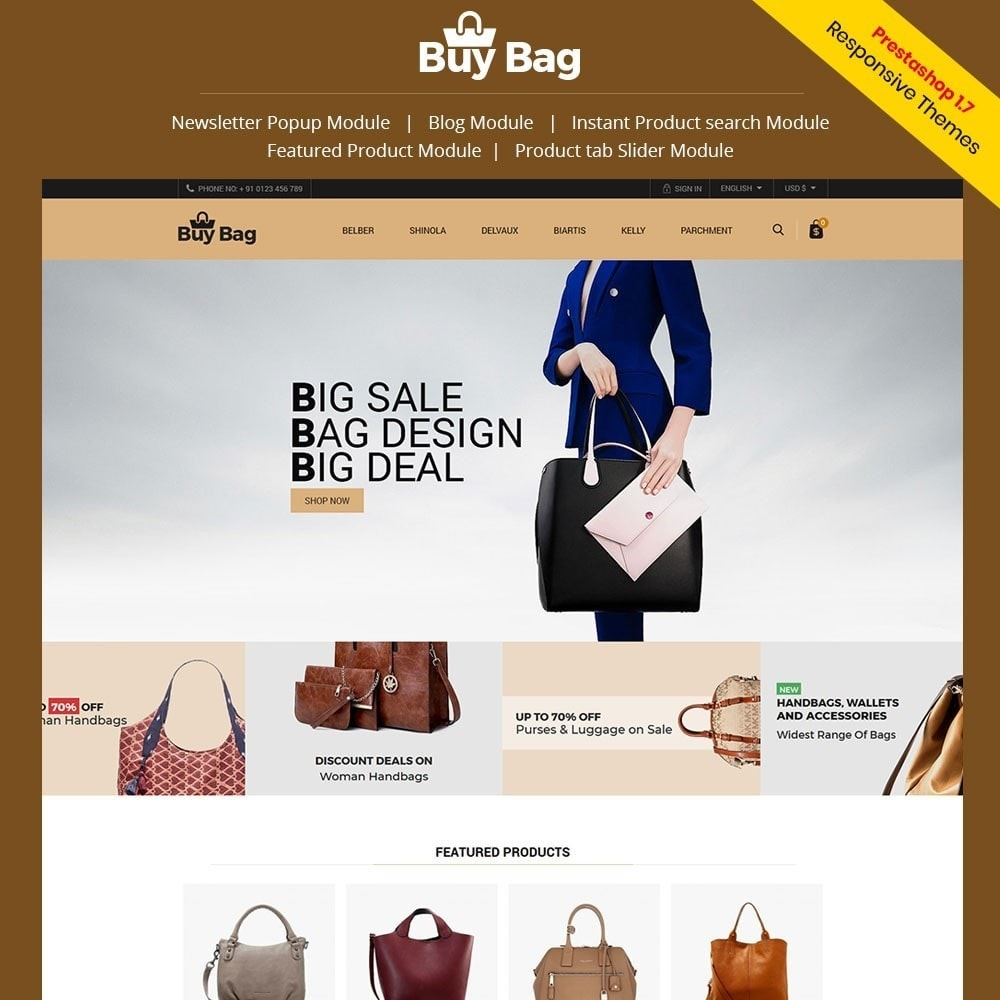 theme - Moda & Calçados - Buy Bag - Fashion Store - 1