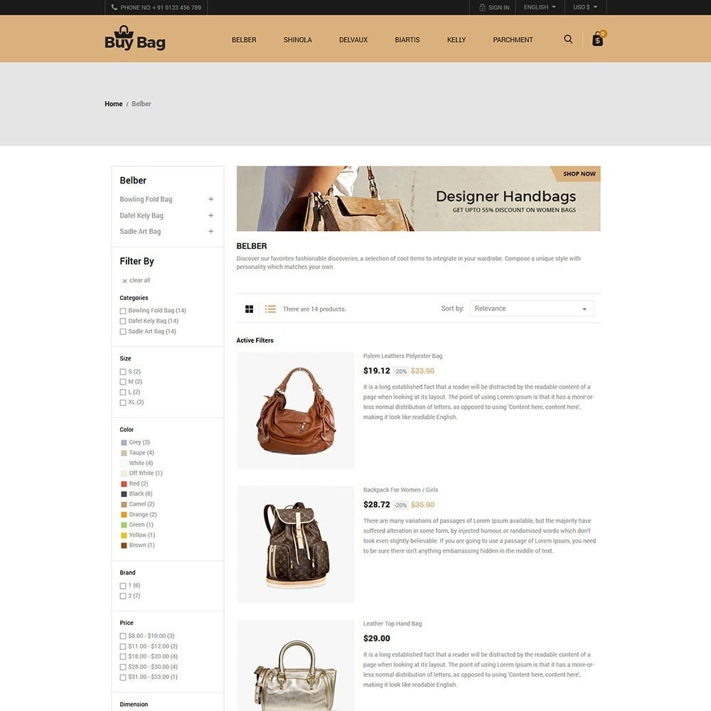 theme - Moda & Calçados - Buy Bag - Fashion Store - 4