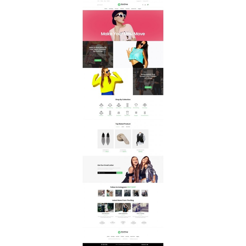 theme - Moda y Calzado - Star Shop - 2