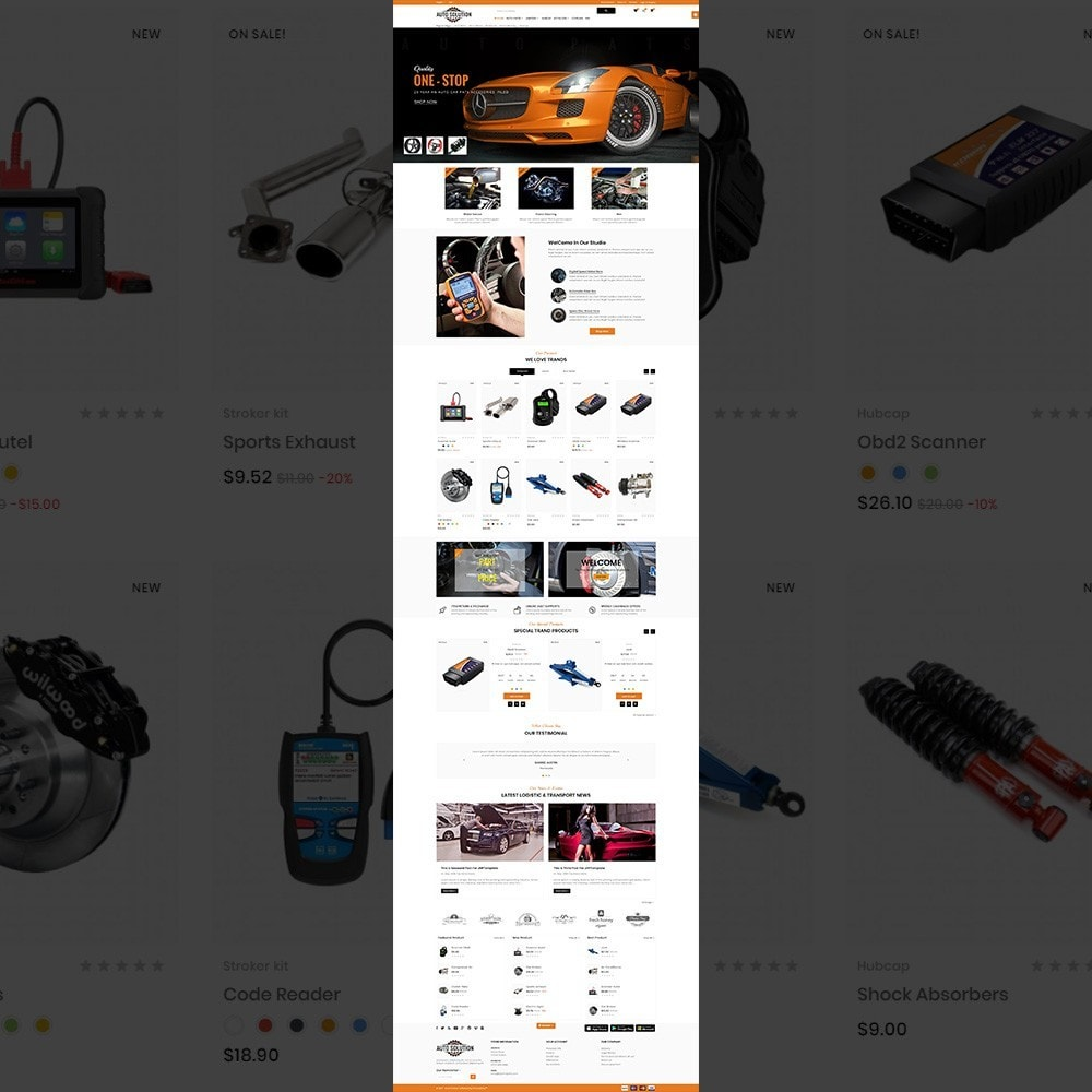 theme - Auto & Moto - Auto Solution – Automotive And Cart - 2