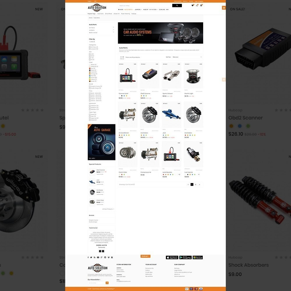 theme - Auto & Moto - Auto Solution – Automotive And Cart - 3