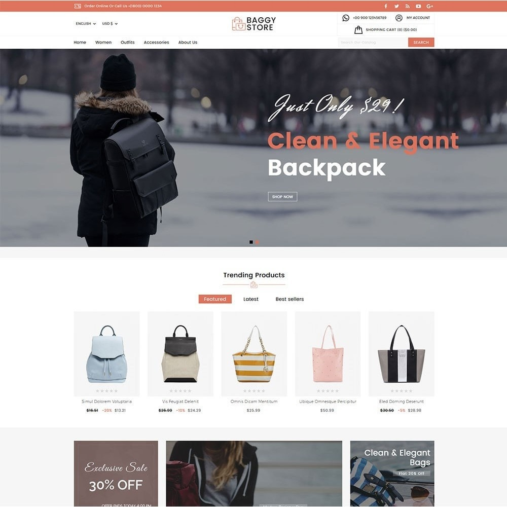 theme - Mode & Schuhe - Baggy Bag Store - 2