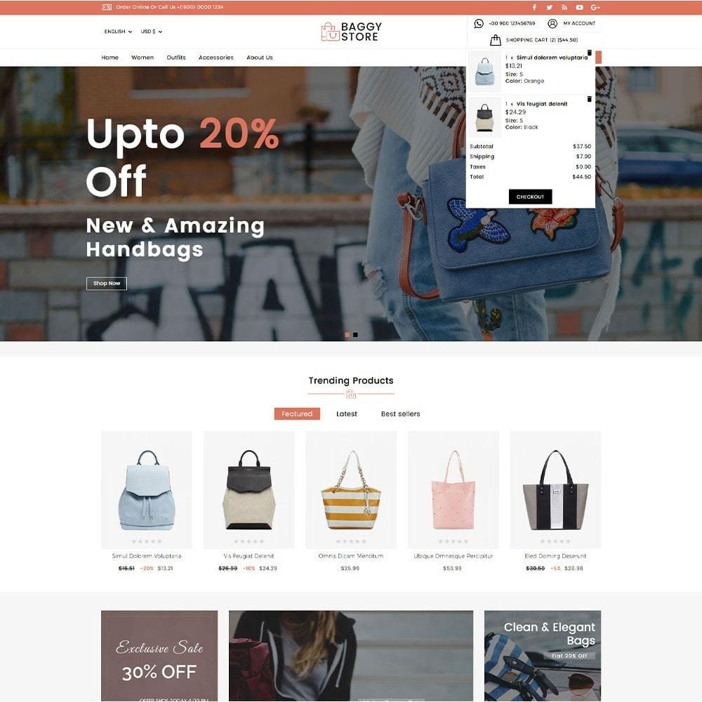 theme - Moda & Calçados - Baggy Bag Store - 3