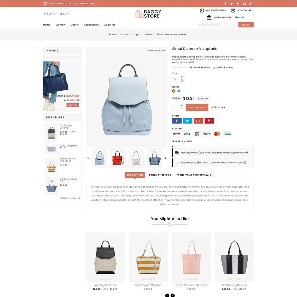 theme - Mode & Schuhe - Baggy Bag Store - 4