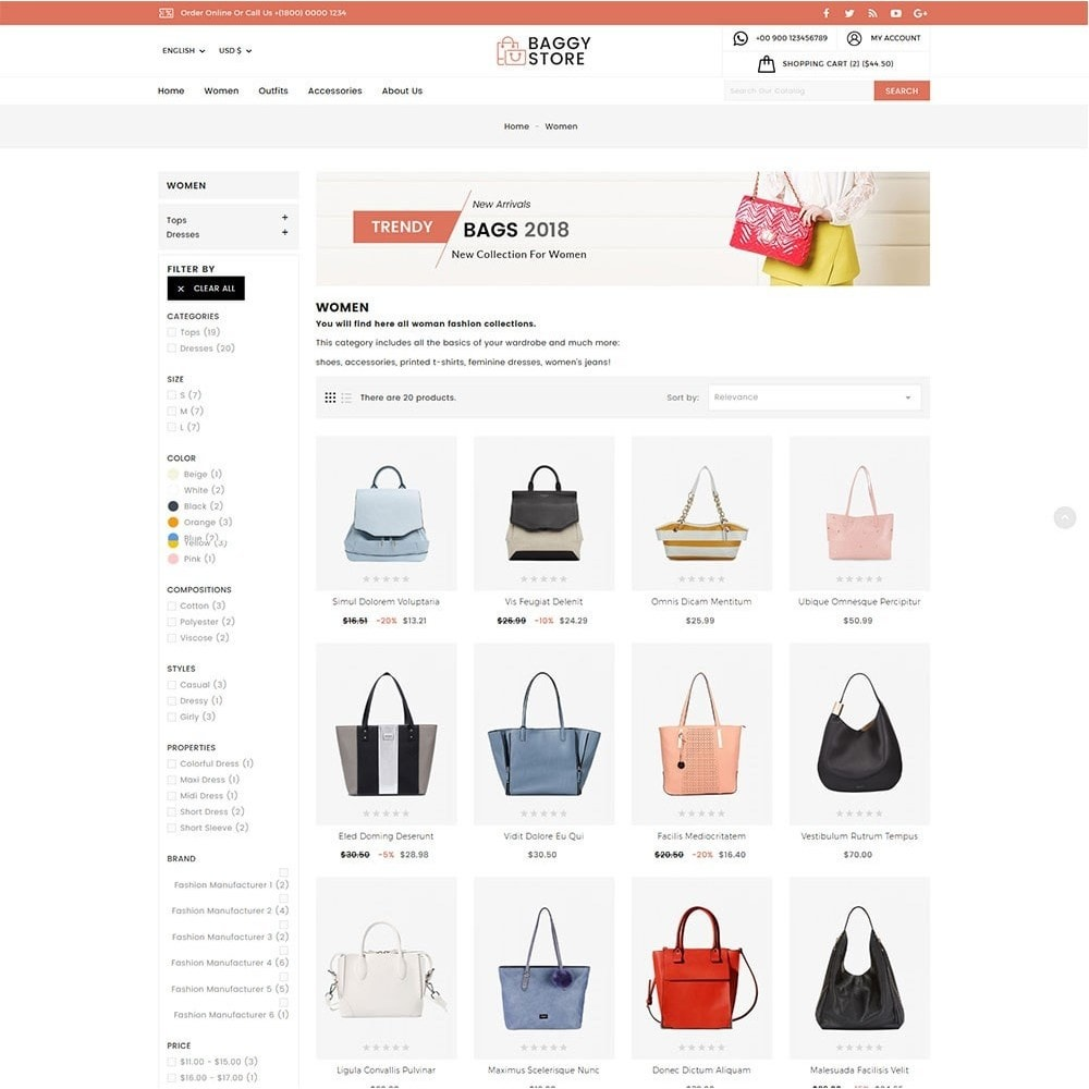 theme - Mode & Schuhe - Baggy Bag Store - 5