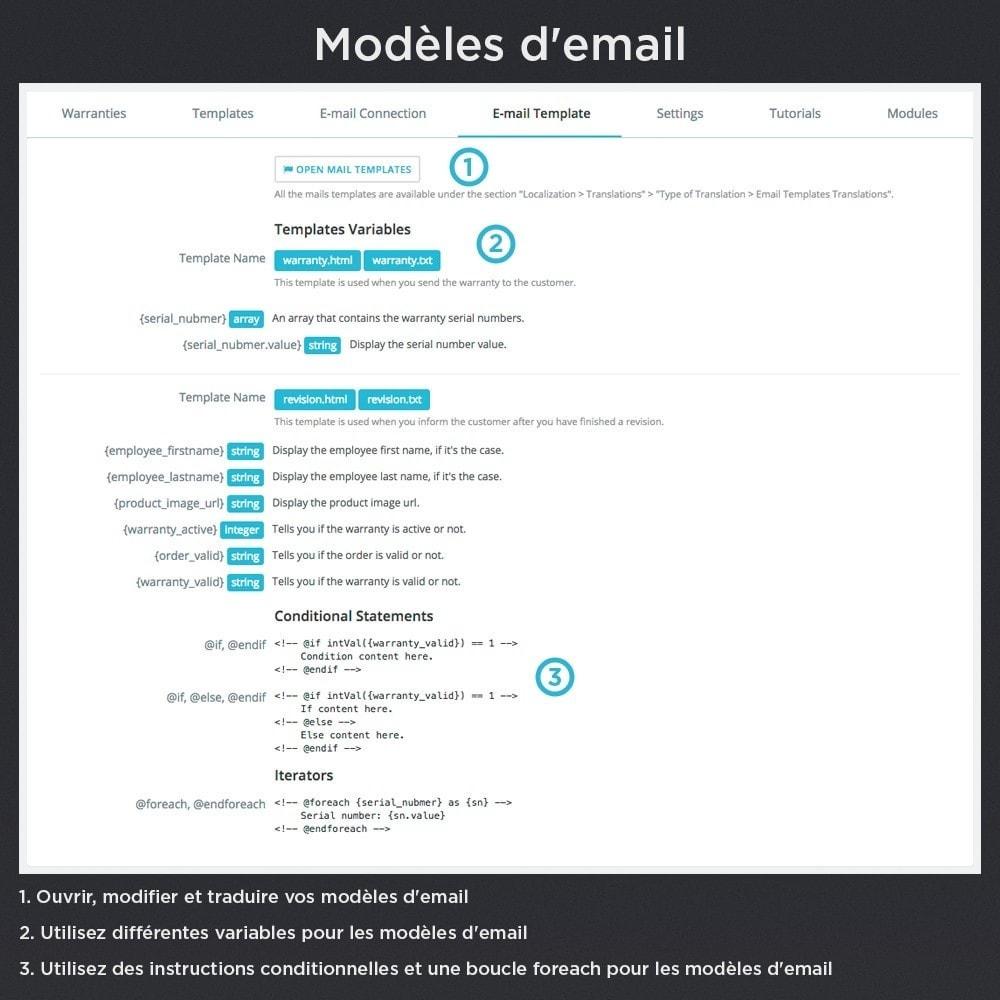 module - Gestion des Commandes - Produit Garantie Pro - 26