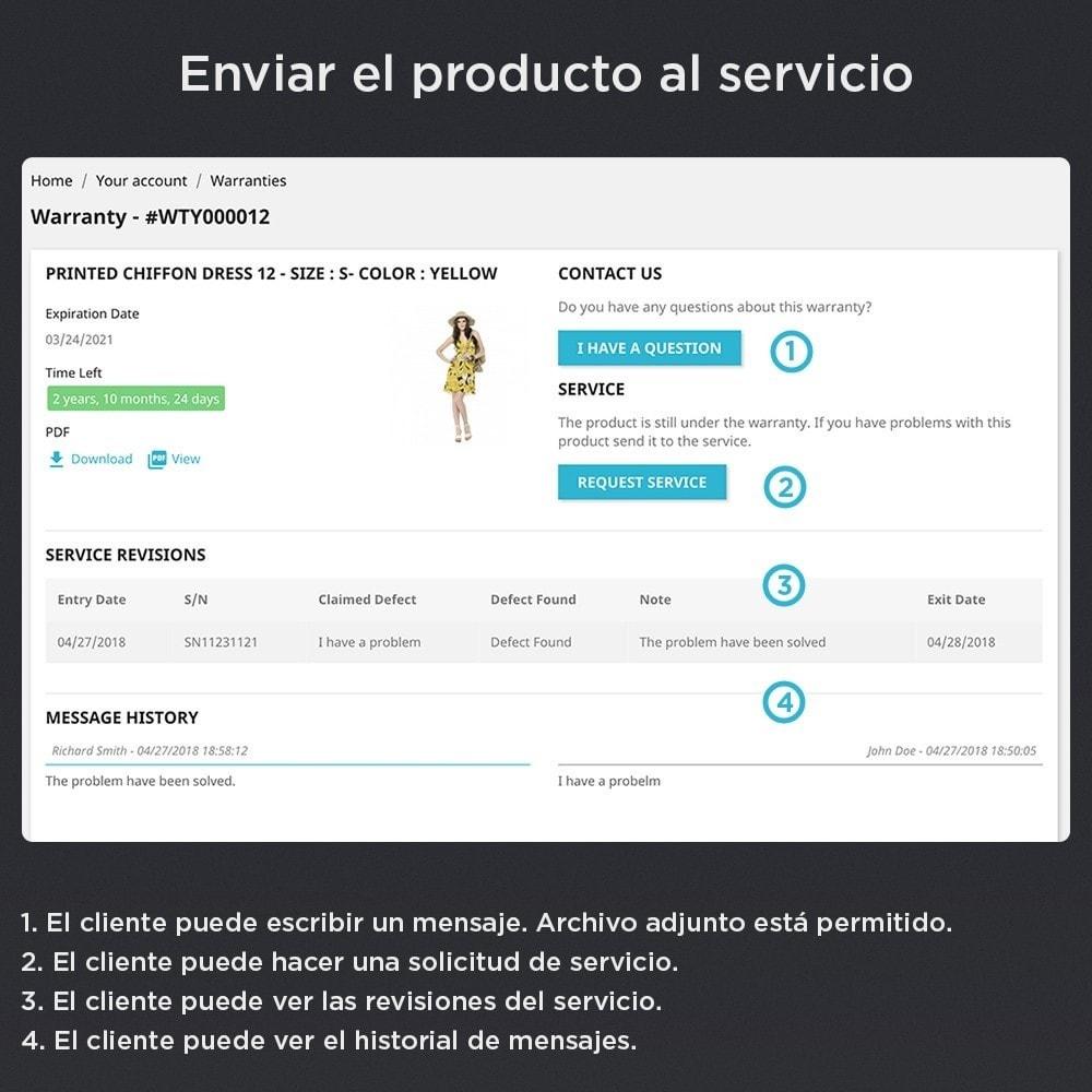 module - Gestión de Pedidos - Garantía del Producto Pro - 5
