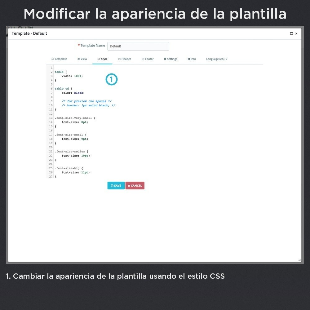 module - Gestión de Pedidos - Garantía del Producto Pro - 20