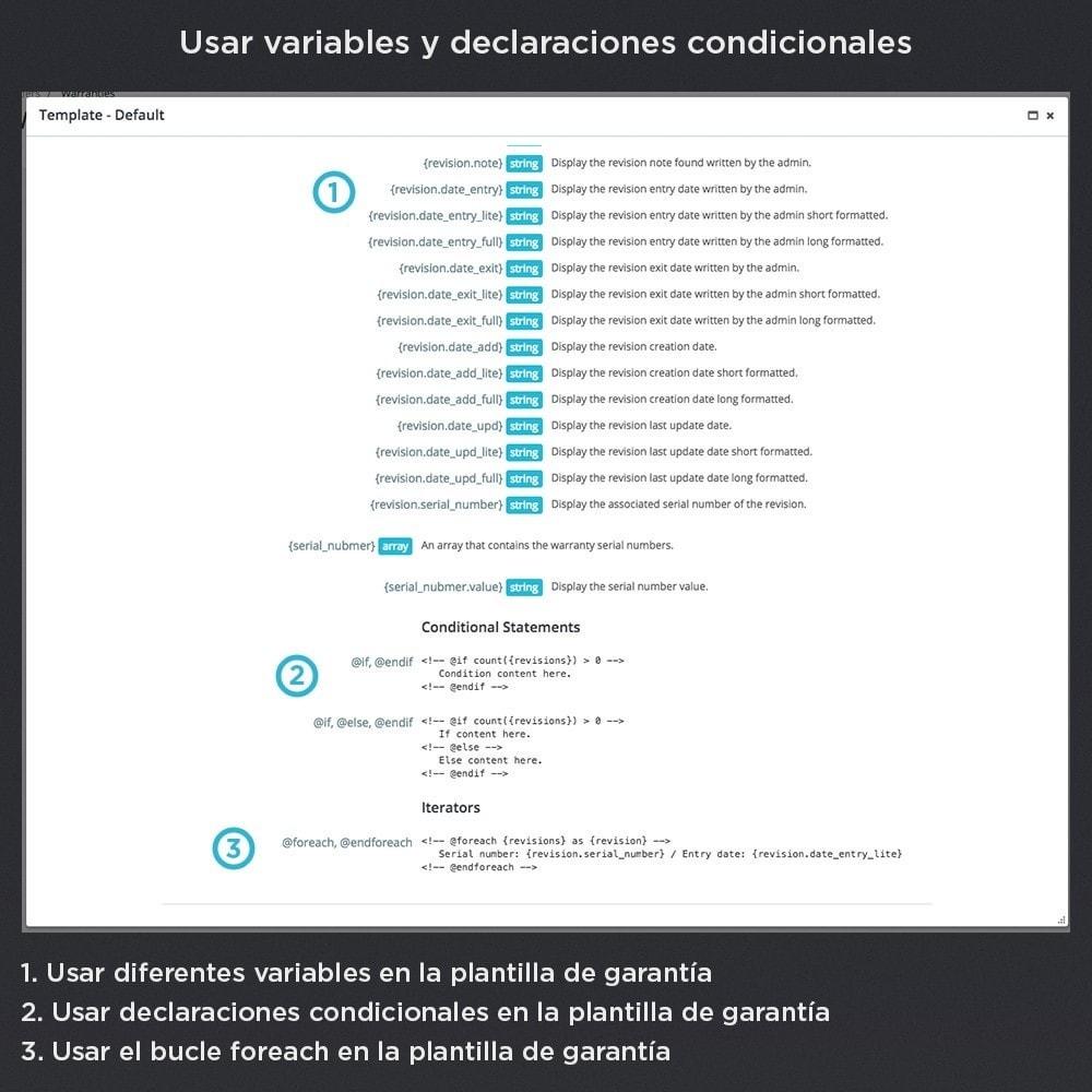 module - Gestión de Pedidos - Garantía del Producto Pro - 23