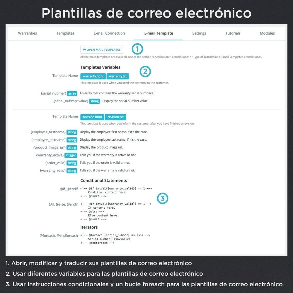 module - Gestión de Pedidos - Garantía del Producto Pro - 26