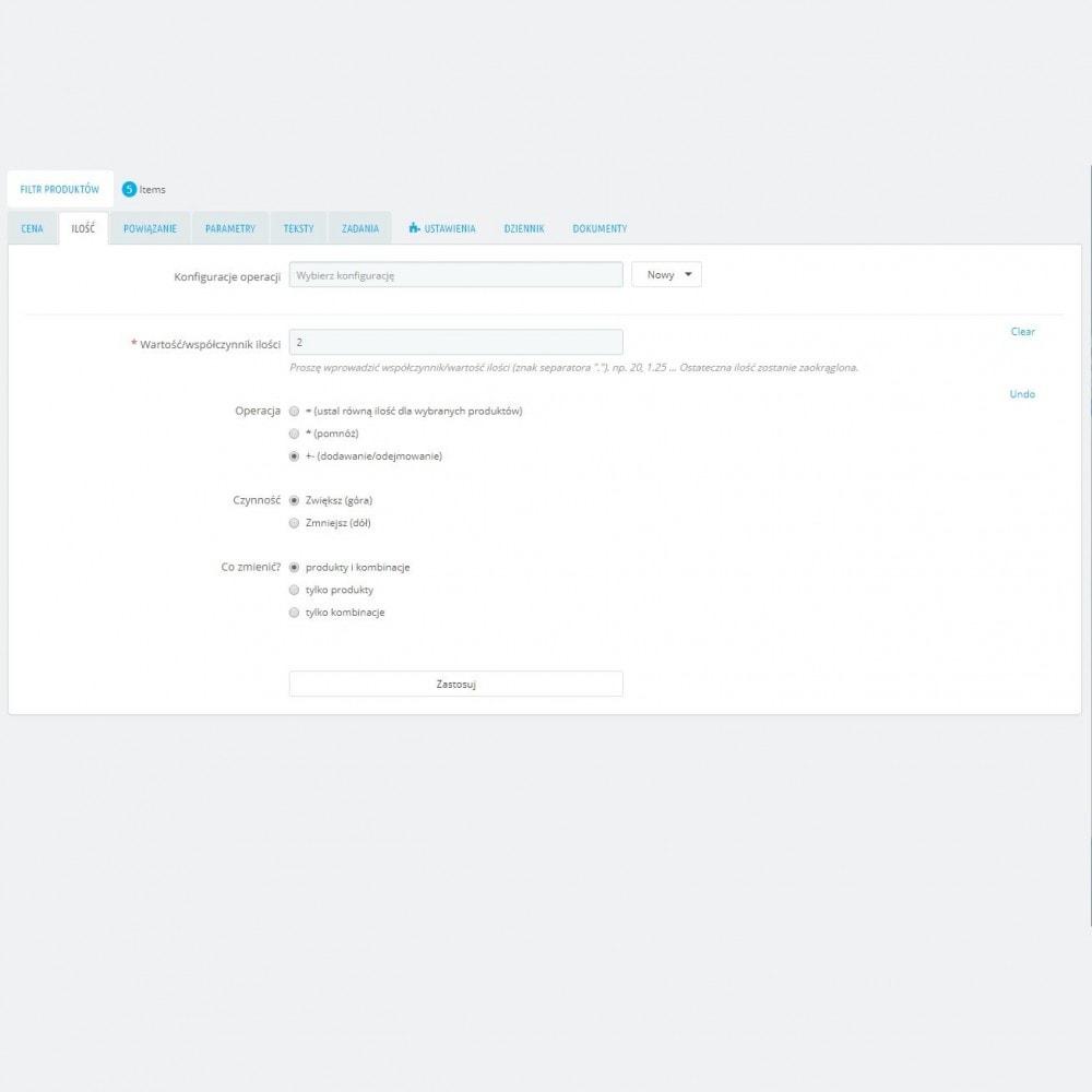 module - Szybkie & Masowe edytowanie - Masowa Edycja Produktów – Aktualizacja Grupowej - 5