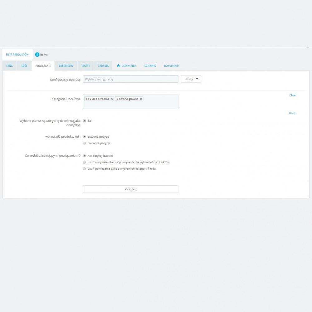 module - Szybkie & Masowe edytowanie - Masowa Edycja Produktów – Aktualizacja Grupowej - 6