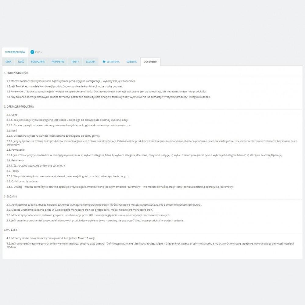 module - Szybkie & Masowe edytowanie - Masowa Edycja Produktów – Aktualizacja Grupowej - 8