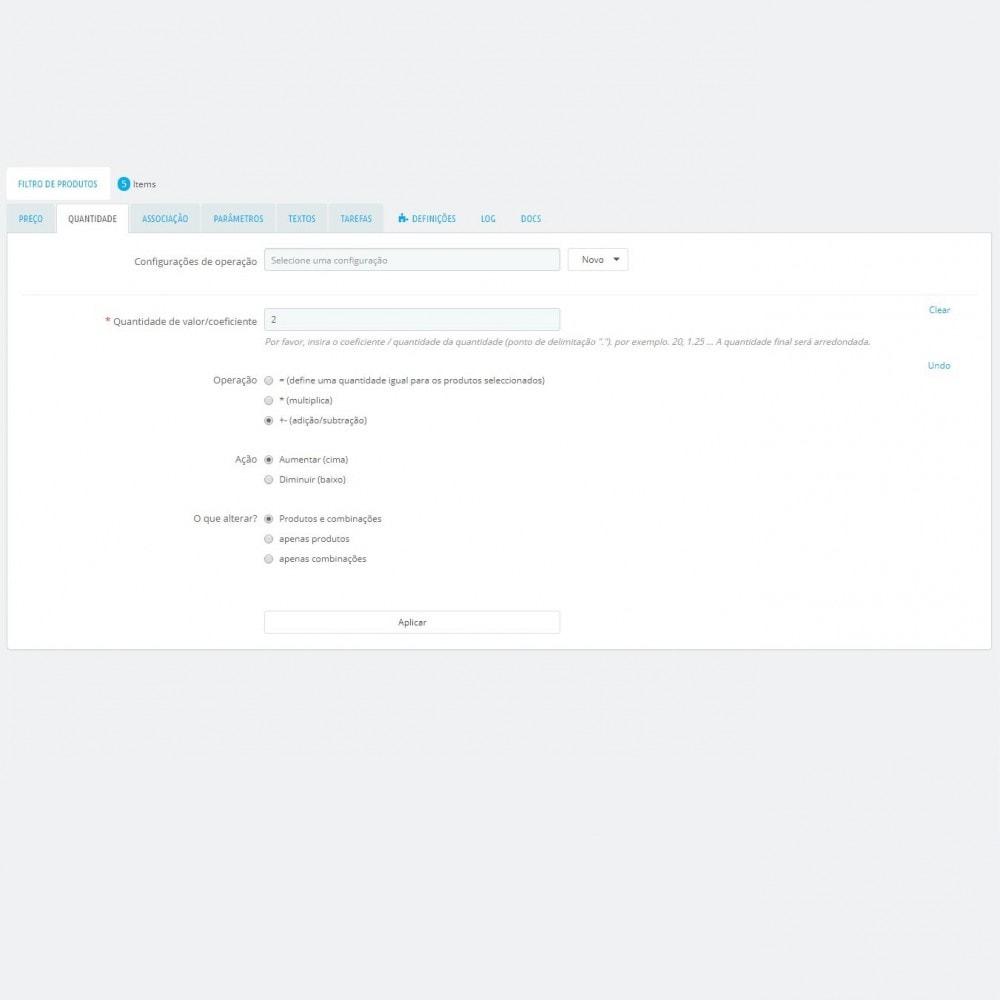 module - Edição rápida & em massa - Edição em Massa de Produtos - Actualização em massa - 5